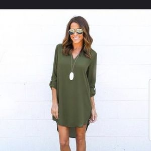 Army Green New Dress (Boutique)